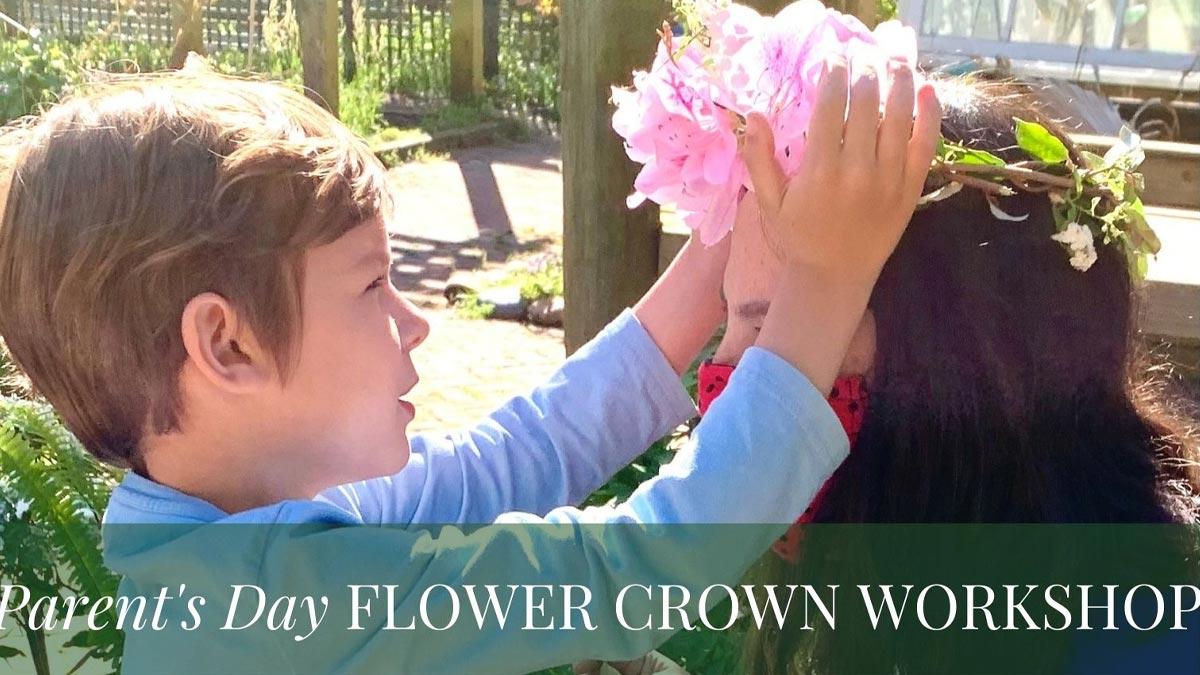 Parent's Day Flower Crown Workshop