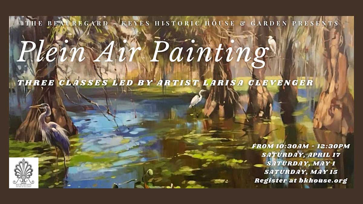 Plein Air Painting with artist Larisa Clevenger