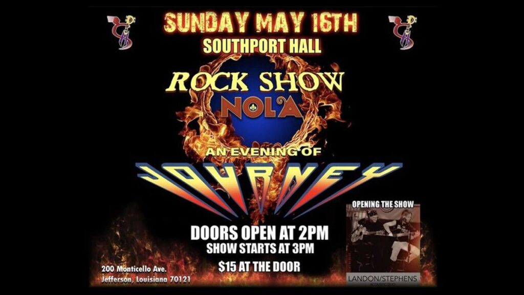 Rock Show Nola - An Evening of Journey