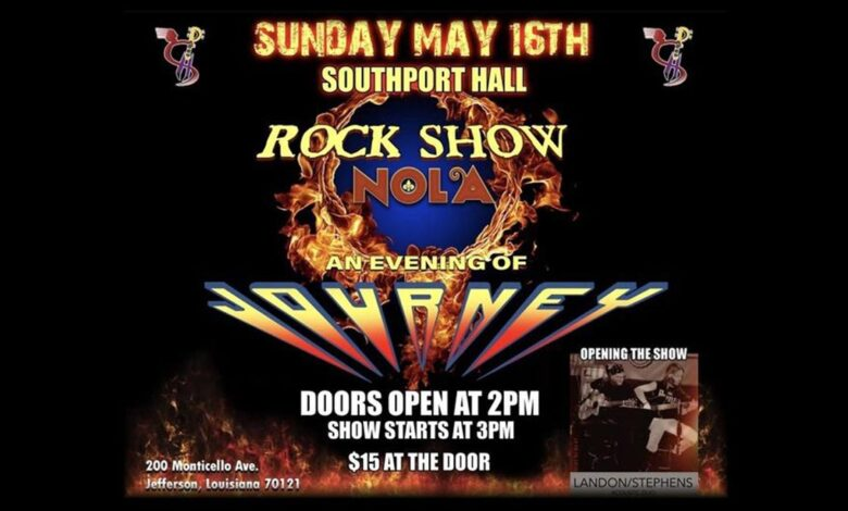 Rock Show Nola - An Evening of Journey
