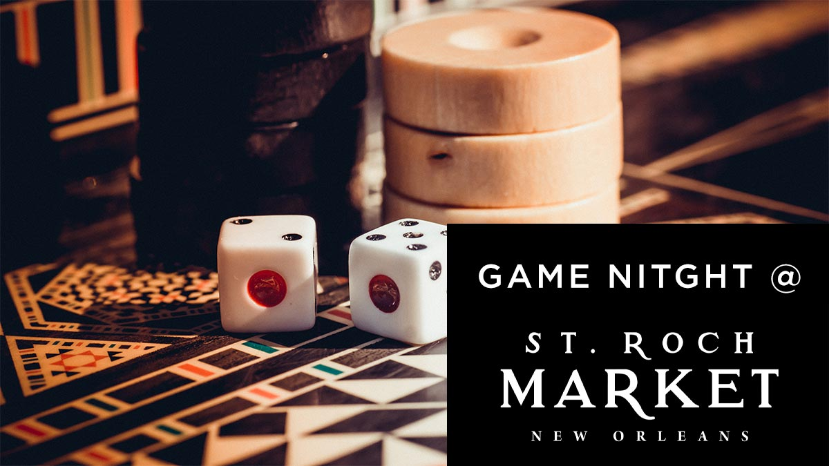 St. Roch Market Game Night