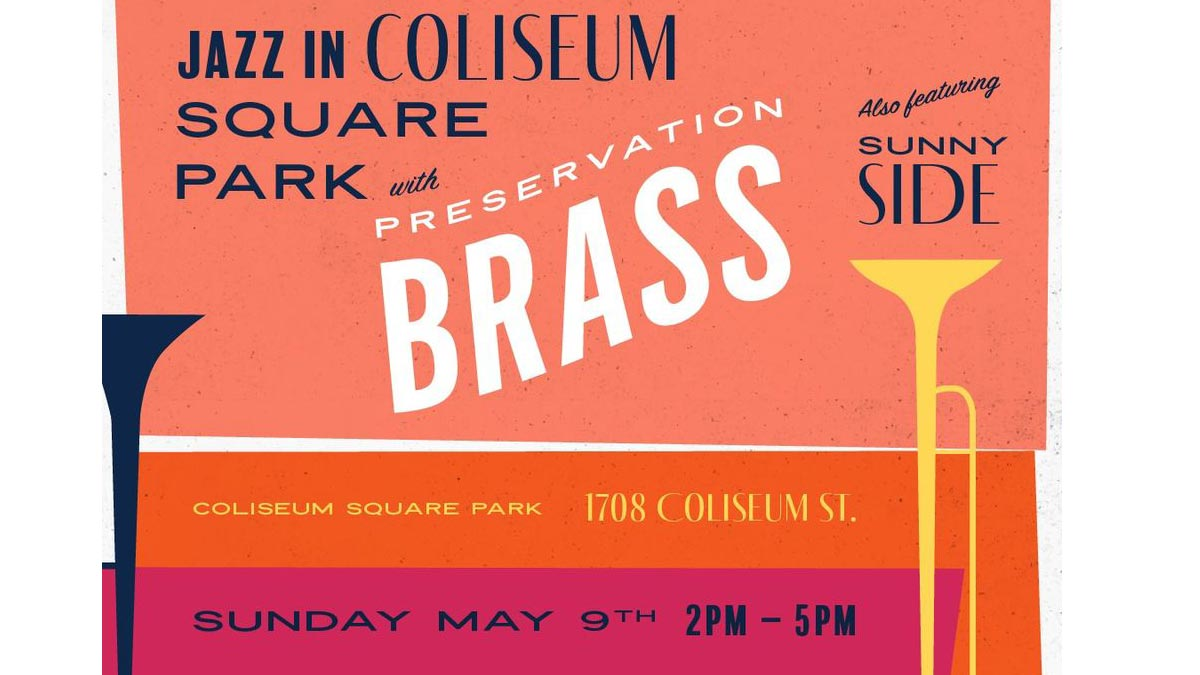 Sunday Jazz in Coliseum Park