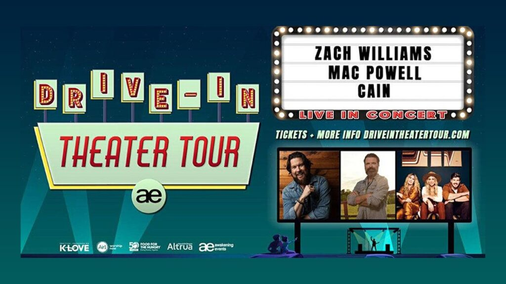 Volunteer for Zach Williams Drive-In Tour - Food for the Hungry