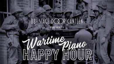 Wartime Piano Happy Hour