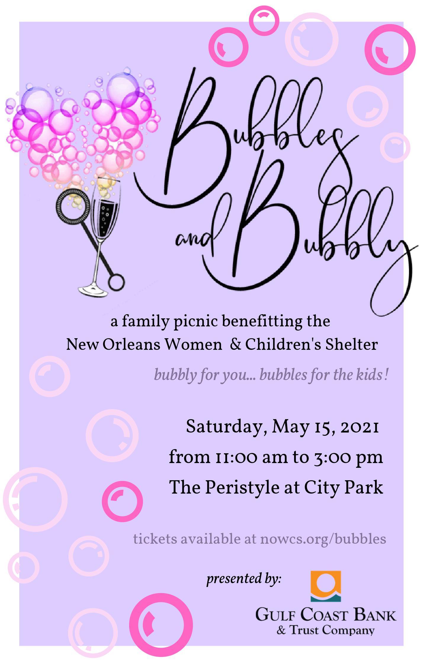 Bubbles and Bubbly Family Picnic