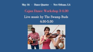 Cajun Dance Workshop