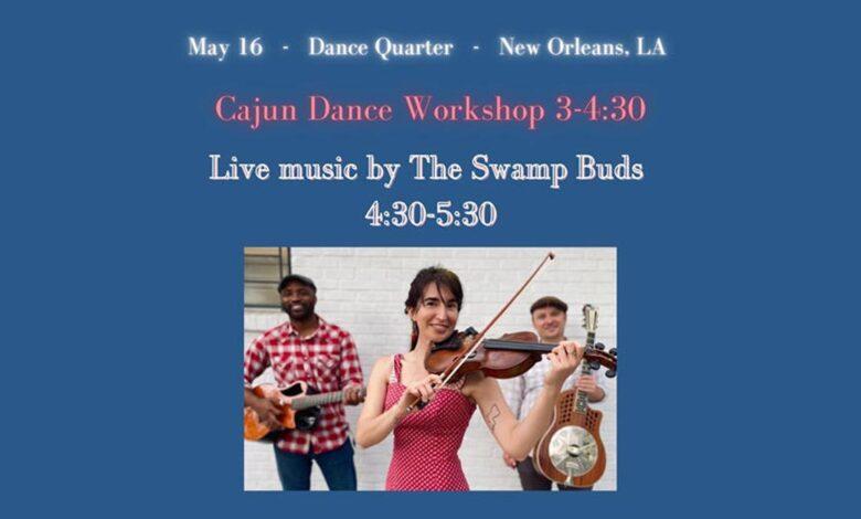 Cajun Dance Workshop