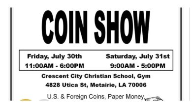 Crescent City Coin Club - Coin Show