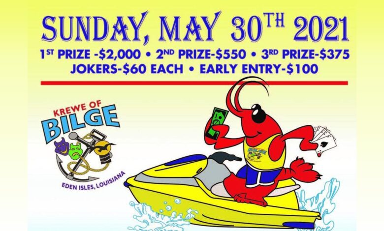 Krewe of Bilge Annual 30th Poker Run