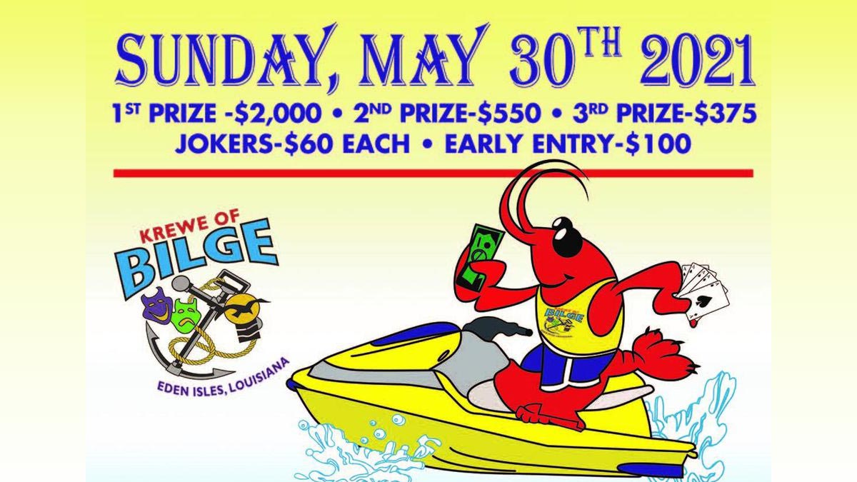 Krewe of Bilge Annual 30th Poker Run