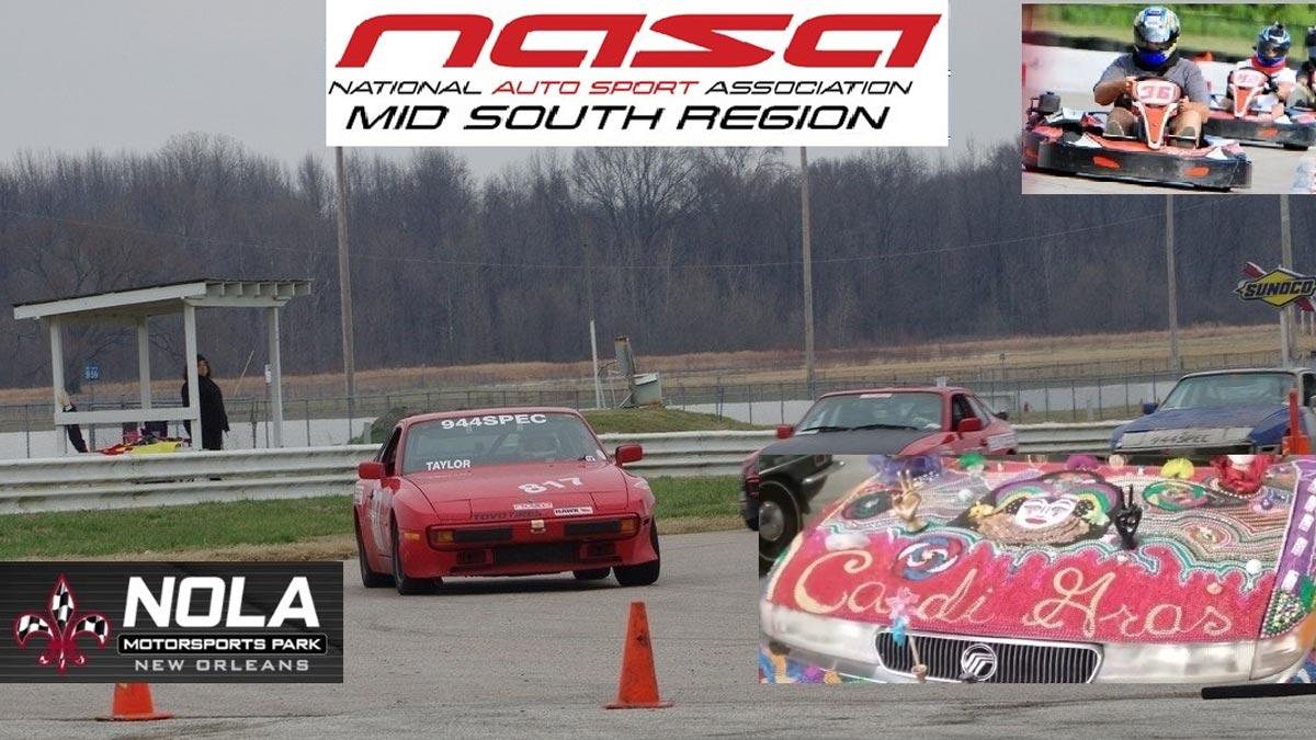 NOLA June Cross-Over Track Event
