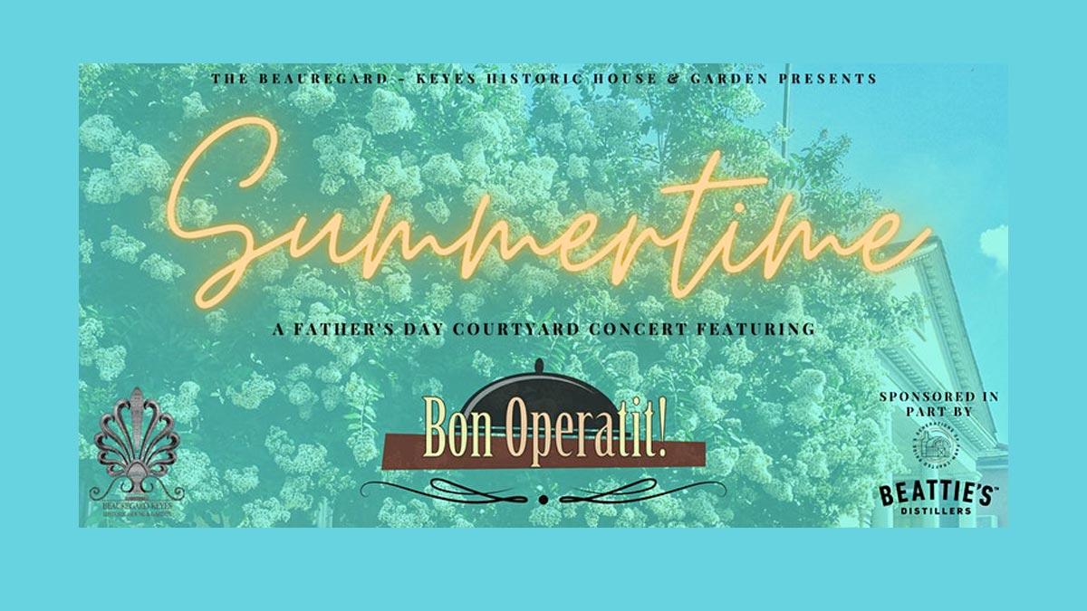 """Summertime"" with Bon Operatit!"