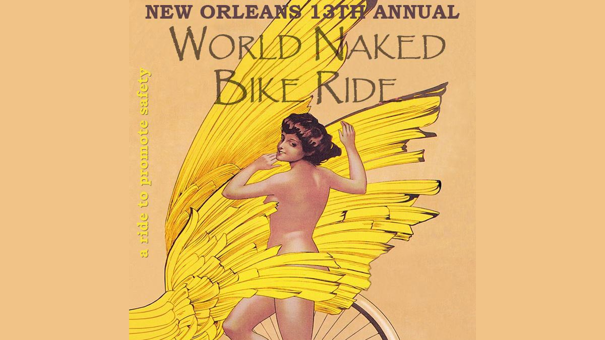 The World Naked Bike Ride - New Orleans