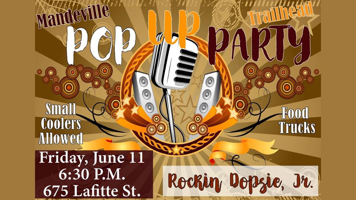 Trailhead Pop Up Party featuring Rockin' Dopsie, Jr.