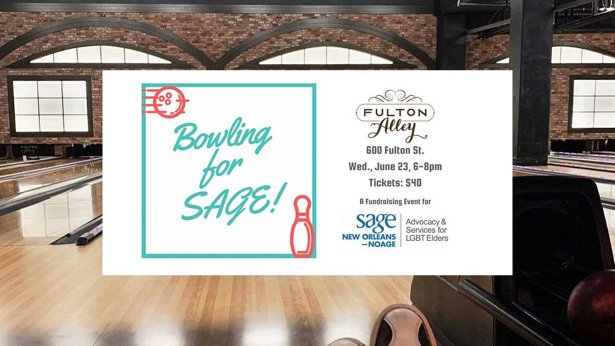 A Fundraiser for SAGE New Orleans - NOAGE
