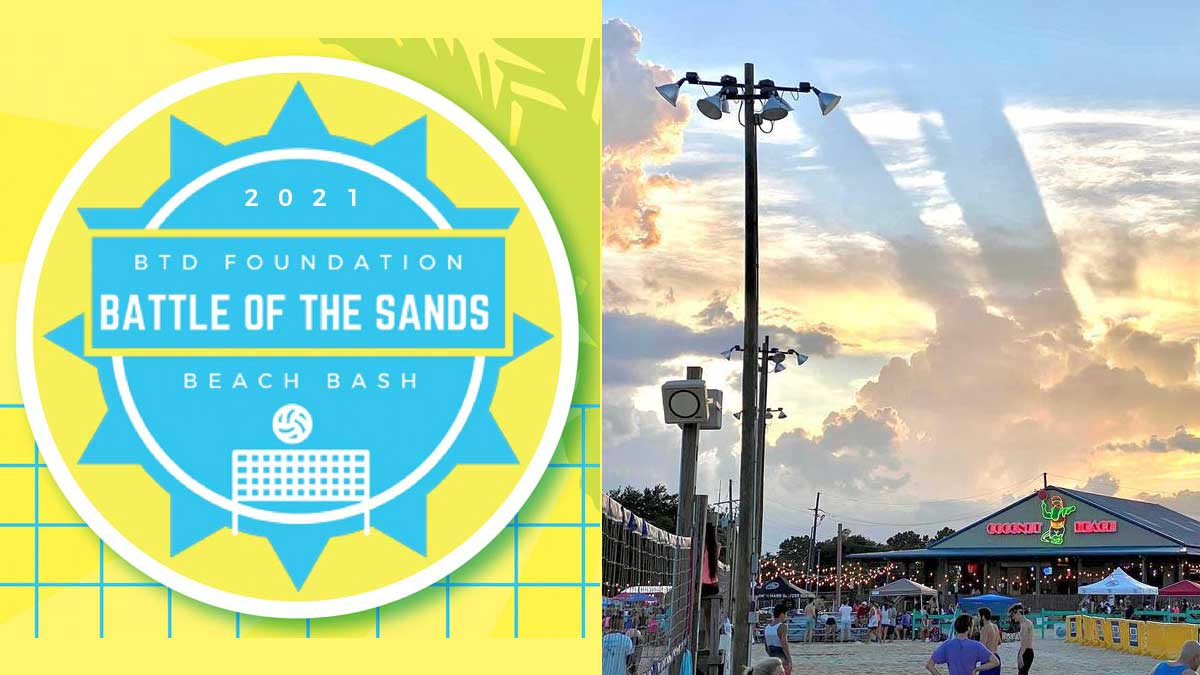 Battle of the Sands Beach Bash Volleyball Tournament