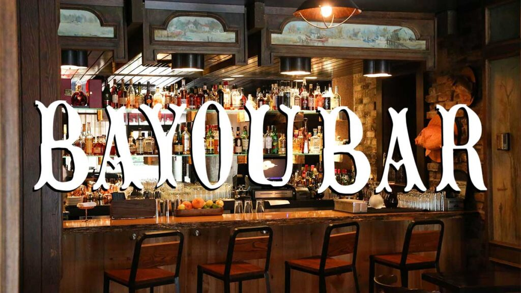 Live Music at the Bayou Bar