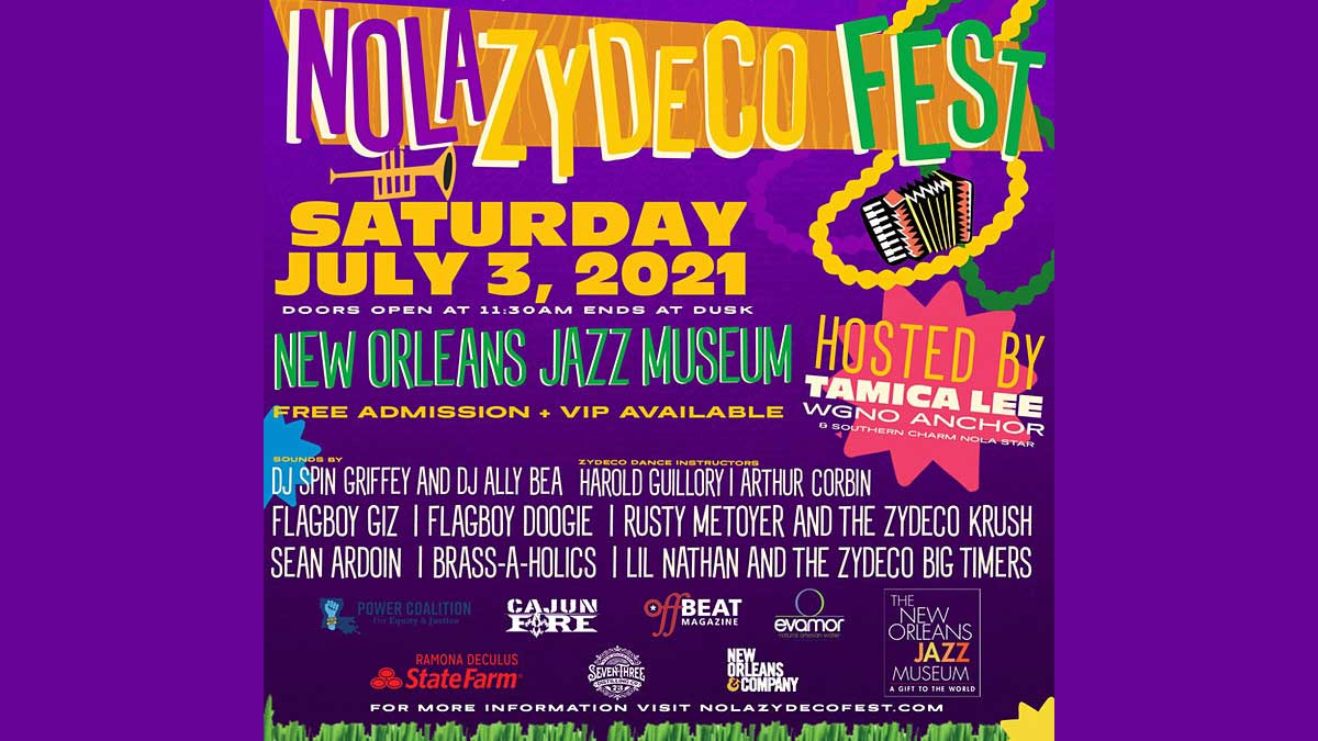 NOLA Zydeco Fest 2021